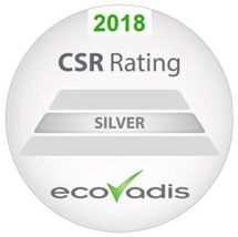 ESTRON IS AWARDED SILVER LEVEL ECOVADIS STATUS